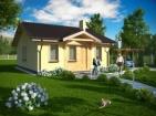 Проект небольшого уютного дома